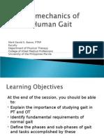 Bio Mechanics of Gait