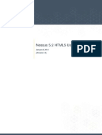 Nessus 5.2 HTML5 User Guide