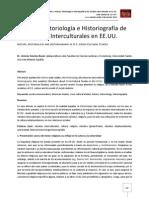 Historia, Historiología e Historiografía de los Estudios Interculturales en EE.UU.
