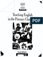 Susan Halliwell Teaching English in the Primary Classroom (Longman Handbooks for Language Teachers) 1992