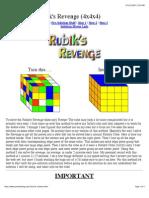 Rubik4x4x4Solution