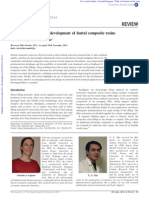 Recent Advances in Composite Resins Review