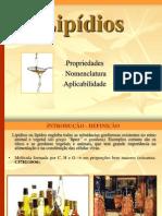 1º Bim- Lipideos