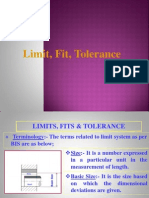 Tolerance - Limit Fit