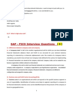 SAP FICO Interview Q&A