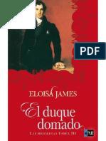 El Duque Domado de Eloisa James v1.0