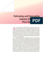 Demand Forecasting and Estimating Methods Problems