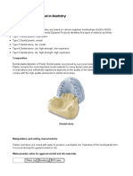 Classification of Dental Models and Bite Adjustment1