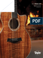 Taylor guitar pricelist