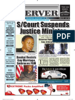 Liberian Daily Observer 01/13/2014