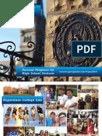 2014 Georgetown SPHS Brochure