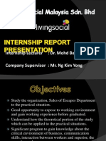 Internship Report Presentation