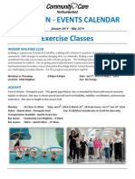 Events Booklet - Jan-Mar 2014