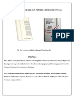 Product Report of the Iclicker