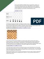 Șahul este jucat pe o tablă de șah care este împărțită în 64 pătrățele