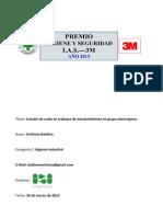 Emiliano Baldino. Concurso 3M - IAS