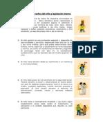 Derechos del niño y legislación interna