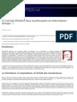 Le Concept d'Histoire Dans La Philosophie de Gilles Gaston Granger