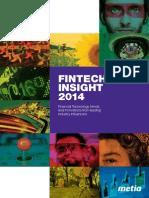 Fintech Insight 2014