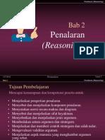 presentasi teori akuntansi penalaran