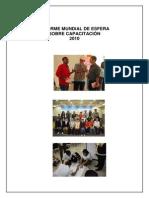 Informe Esfera Sobre Capacitacin 2010