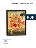 8961910 What is the Significance of Various Forms of Lord Hanuman