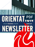 CTS Orientation Newsletter - Spring 2014