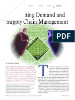 Integrating Demand and Supply Chain Management