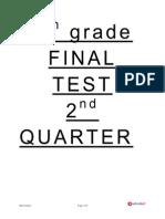 8th.final Test 2nd Quarter