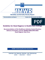 Guideline for Hand Hygiene in Health-Care Settings