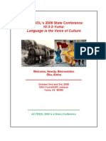 2009 AZTESOL State Conference Program