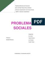 poblemas sociales