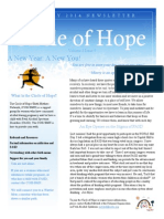 Circle of Hope - January 2014 Newsletter