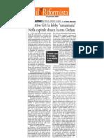 Finanziare lo Sviluppo - Articolo sul Riformista