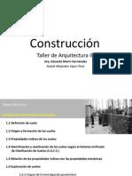 Construcción III Inicio del Curso 2014-2