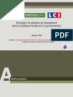 OpinionWay pour CLAI _Metro_LCI-Perception dun changement de politique du gouvernement.pdf