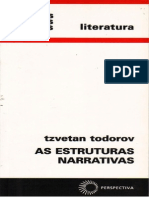 Tzvetan Todorov - As Estruturas Narrativas (Doc)(Rev)