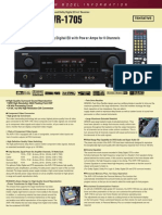Denon AVR1705