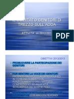 Verifica Comitato Genitori2012 2013