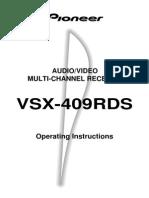 Pioneer VSX 409RDS