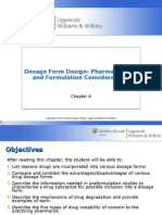 Dosage Form Design