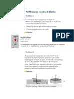 Problemas de estática de fluidos