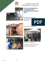 LANZAMIENTO DE LA ESTRATEGIA EN EL CORREGIMIENTO DE SANTIAGO ABAJ