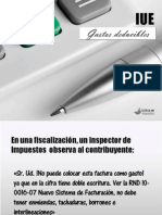 Curso Gastos Deducibles