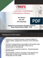 Hexavalent Chromium presentation