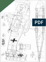 Ju 87 Stuka by N.ziroli Full Plans&Parts for 90cm Ploter