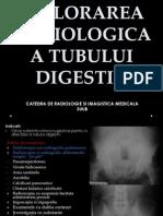 Explorarea Radiologica a Tubului Digestiv 1
