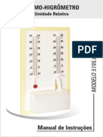 MANUAL Higrometro