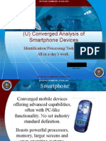NSA - Converged Analysis of Smartphone Devices
