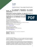 Modelacion Matematica Una Mirada Desde Los Lineamientos y Estandares Jhony Villa